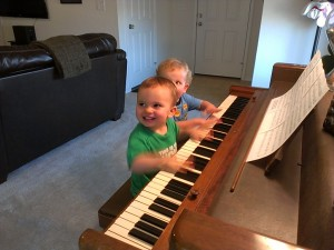 Pounding on the keys is so much fun!