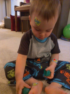 Fun with stickers!