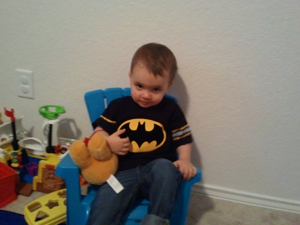 Don't mess with Baby Batman!