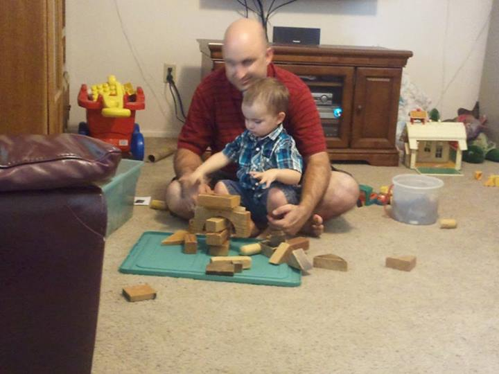 Blocks with Daddy