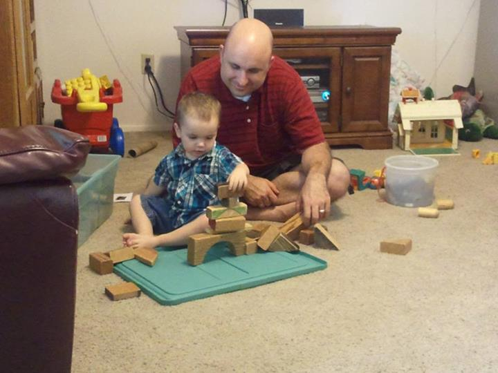 More blocks with Daddy